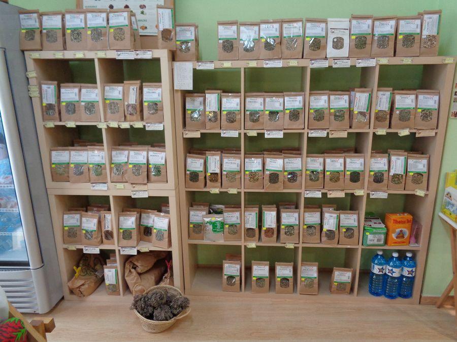 Productos herbodietetica
