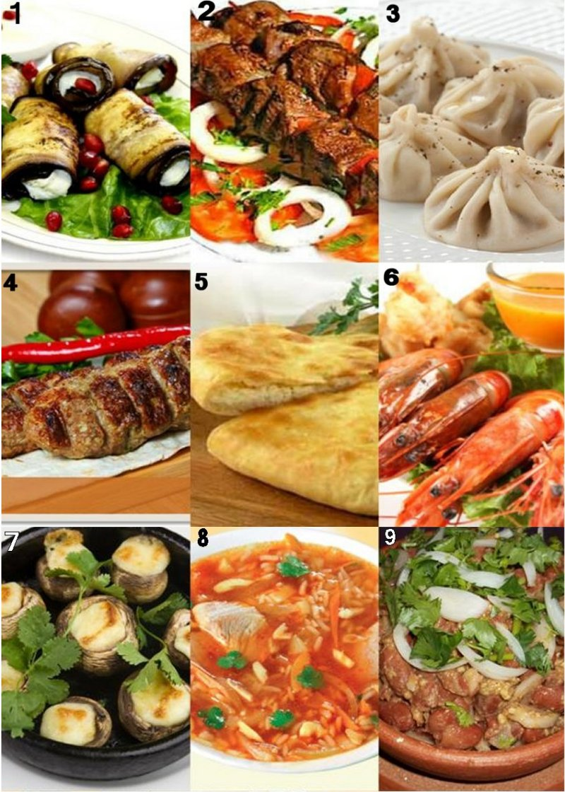 Наши блюда Restaurant Mimino Salou Salou