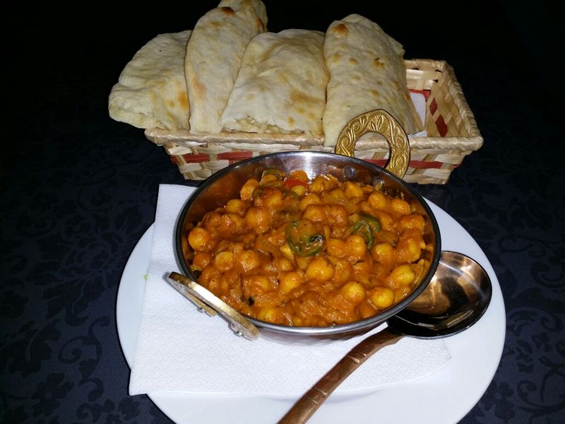 Chana Masala (Garbanzos en salsa de curry)