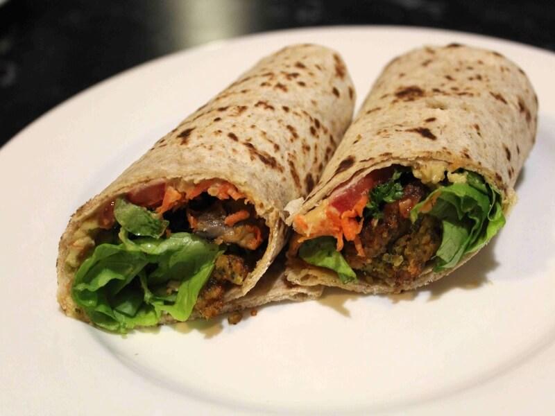 Kebab falafel