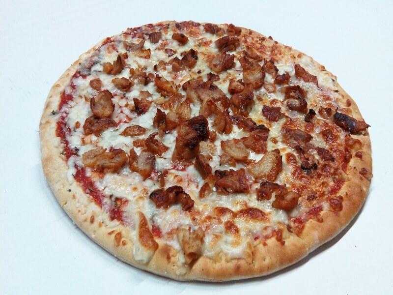 Pizza de kebab