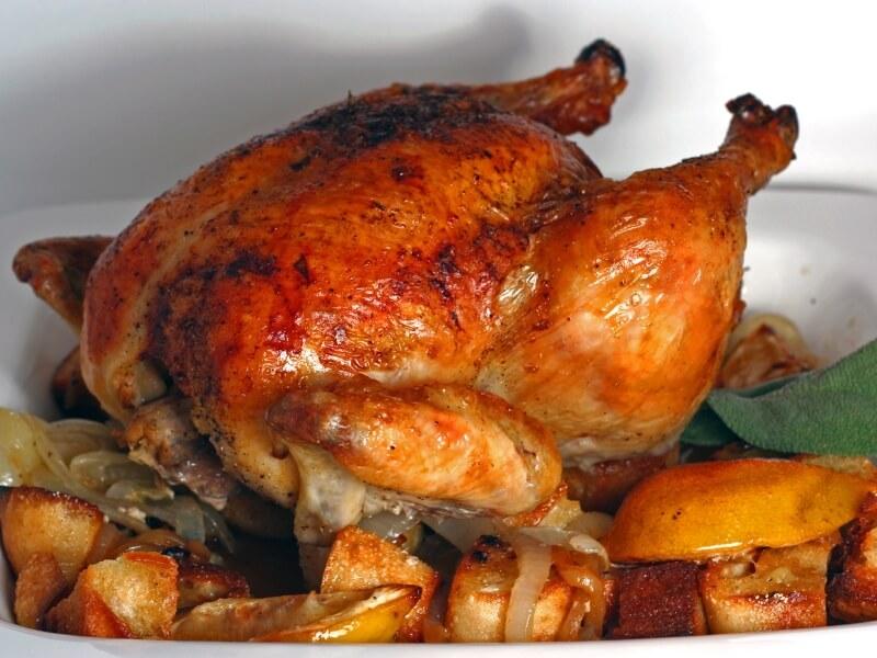 Pollo al ast en Cambrils