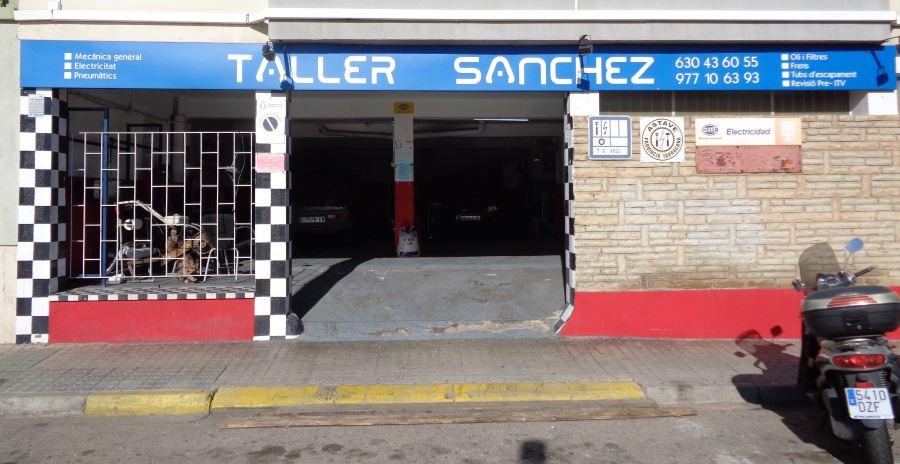 Inicio Taller Sánchez Tarragona