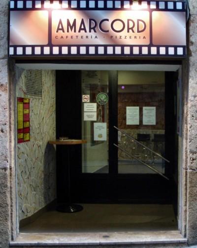 Inicio Pizzería Amarcord Tarragona
