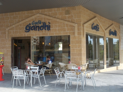 Presentación Café Ghandi Reus