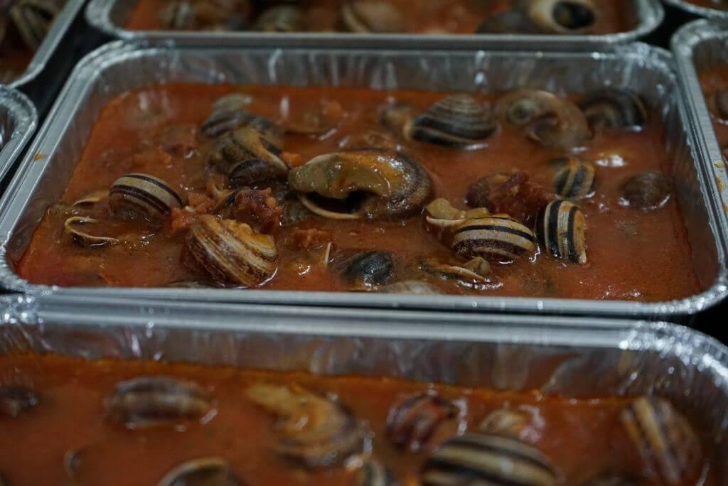 Comida para llevar en Tarragona   Caracoles
