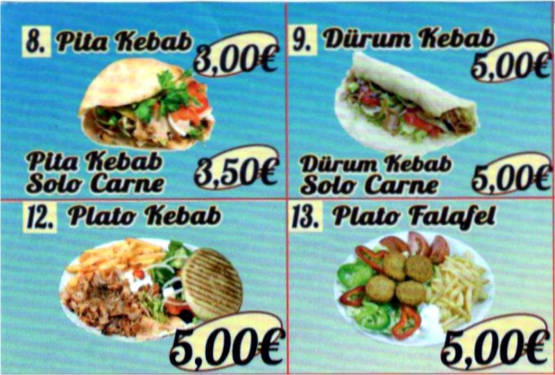 Kebab en Reus Ofertas