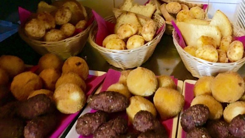 Kibi - Cochinha - Croqueta pollo - Pan queso