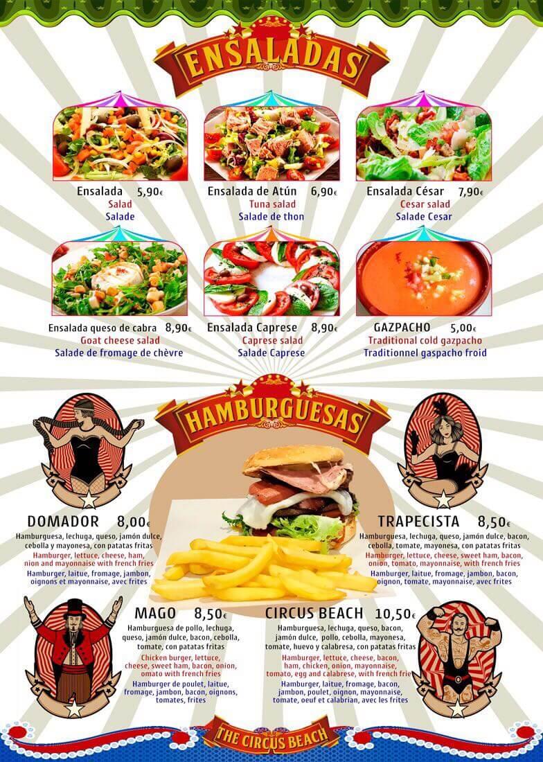 Cocina Brasileña en Salou Ensaladas