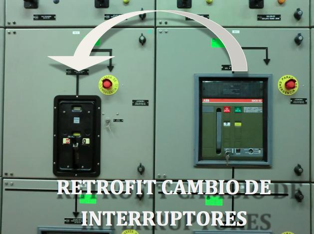 Retrofil cambio interruptores