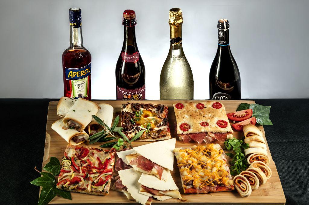 Producción artesanal con productos italianos