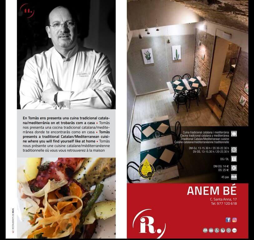 Restaurant a Reus Cargols