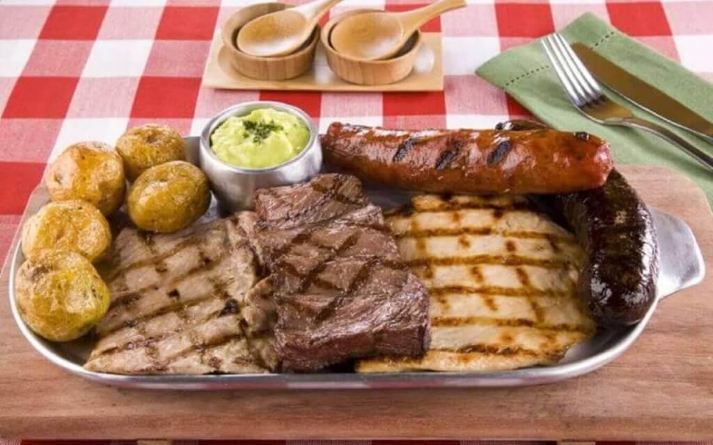 Parrillada de carne en Salou
