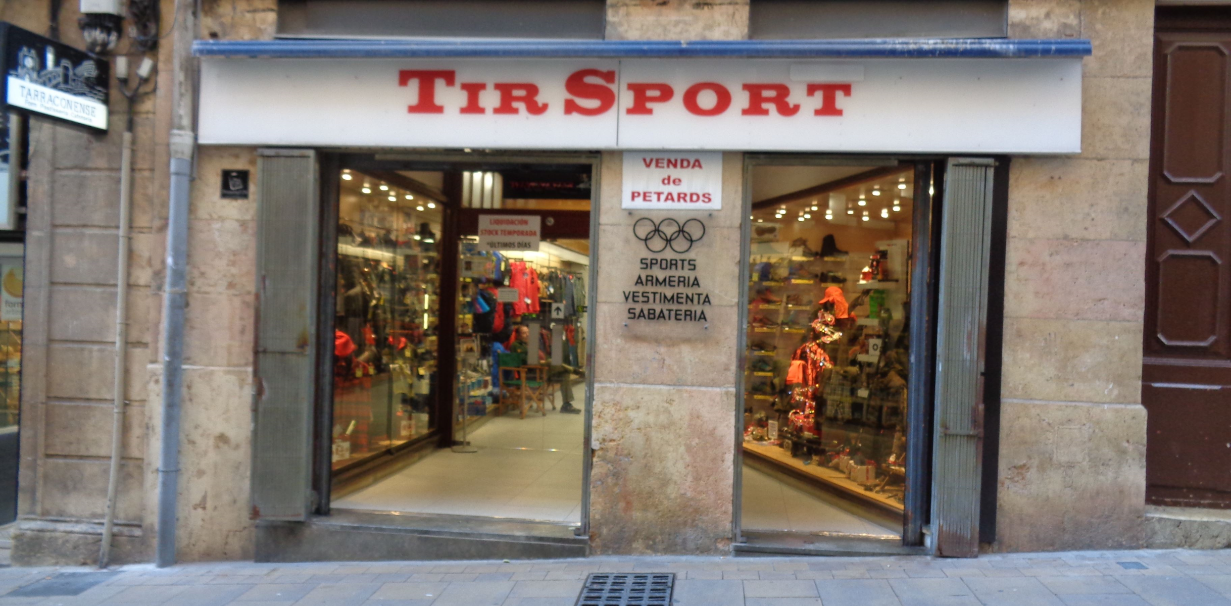 Inicio TIR SPORT S.L. Tarragona