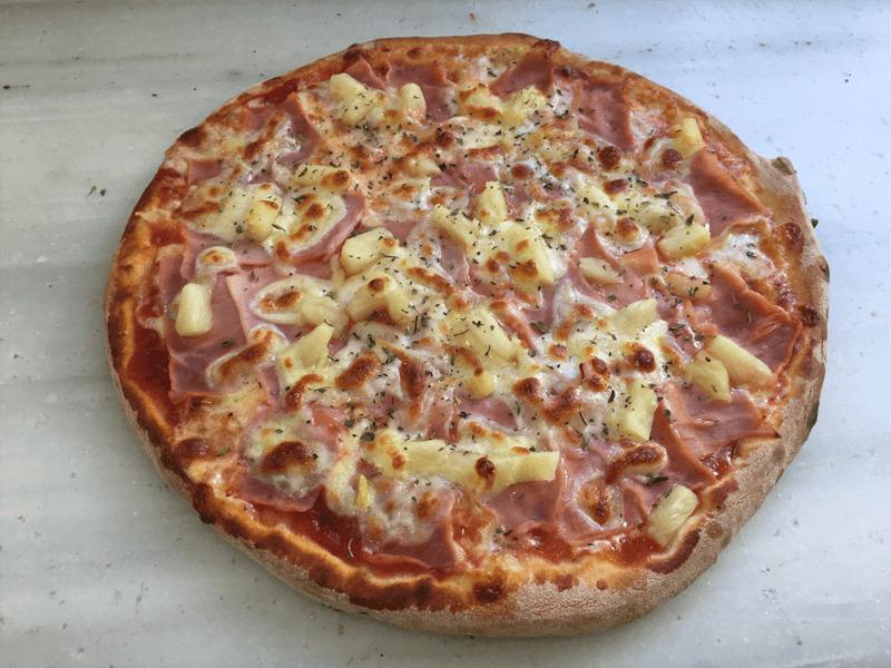 Pizza Hawaiana en Reus