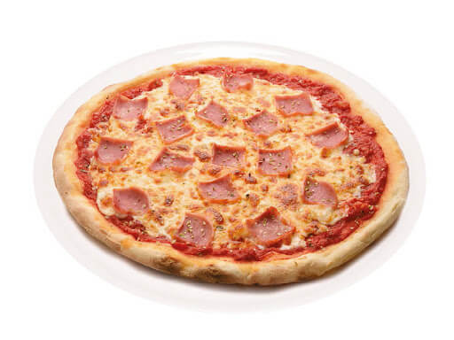 Pizza Jamón en Reus