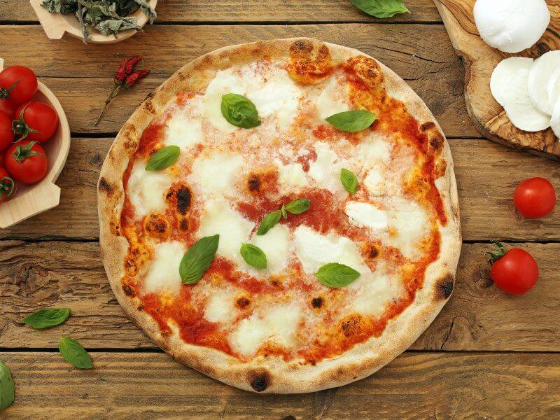 Pizza Margarita en Reus